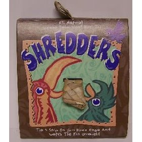 Planet Pleasures Shredders Bird Toy