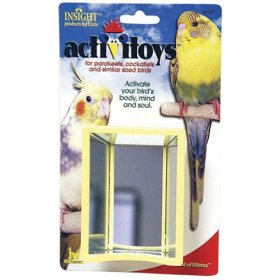 Activitoys Hall of Mirrors Toy for Birds