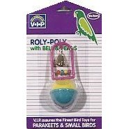 Vo-Toys Roly Poly with Bells and Beads Budgie Bird Toy